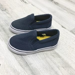 Cat & Jack Blue Slip On Infant Sneaker Size 5